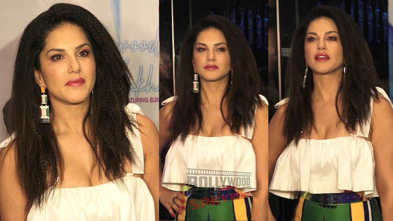 Sunny Leone at the Launch of New Single Hollywood Wale