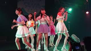 アップアップガールズ(2) 全部青春!ツアー最終日夜公演。橋村理子さん最後のパフォーマンスになります。