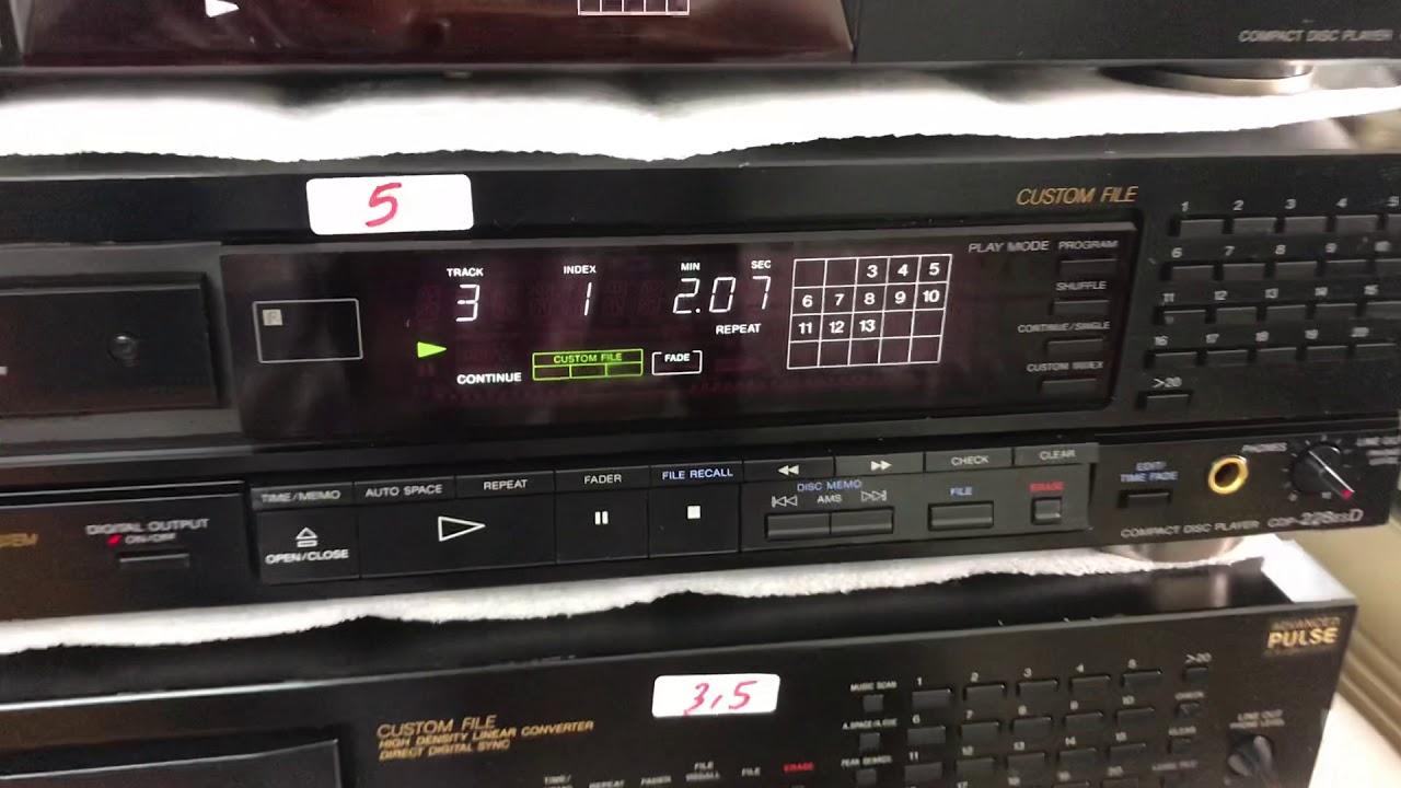 8/1/20 Đầu CD Sony báo giá 0941.891.914 tại Minh Audio Hà Đông