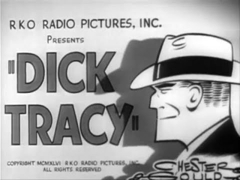 Action Crime Film-Noir Movie - Dick Tracy Detective (1945)