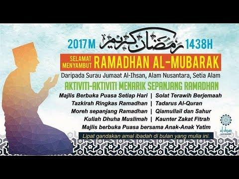 03/06/2017 - Tazkirah Ramadhan - Ustaz Nabil Ahmad