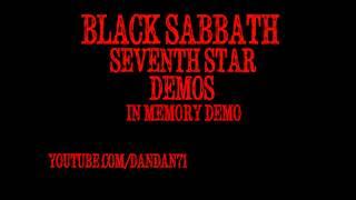 Black Sabbath In Memory Demo Seventh Star