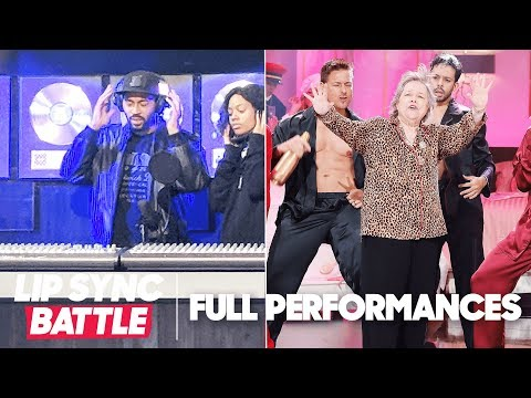 "Tone Bell's ""Party All the Time"" vs. Kathy Bates' ""That's What I Like""  Lip Sync Battle"