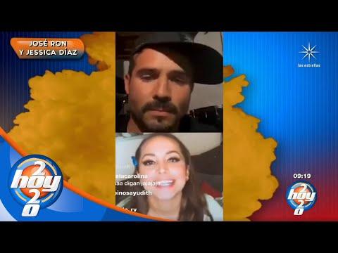 ¡José Ron y Jessica Díaz confirman el fin de su relación! | La Nube | Hoy