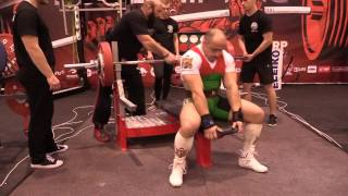 Janos Fazekas (-90 kg) - WRPF World RAW Powerlifting Championship /Moscow  17.11. 2016