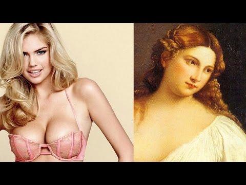 Эволюция женской красоты, красивая женщина, стандарты женской красоты, мода на красоту
