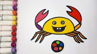 How To Draw A Crab || Draw For Kids