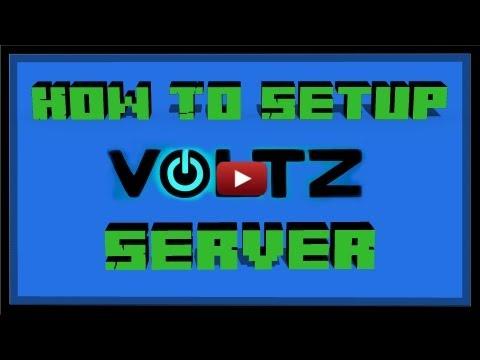 How to Setup Minecraft Voltz Bukkit Server! (Simple) 1.4.7 1.0.11