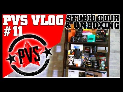 Studio Tour & Surprise Unboxing!