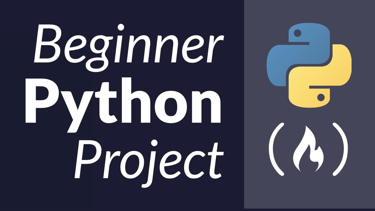 Python Project Tutorial - Your First Python Project