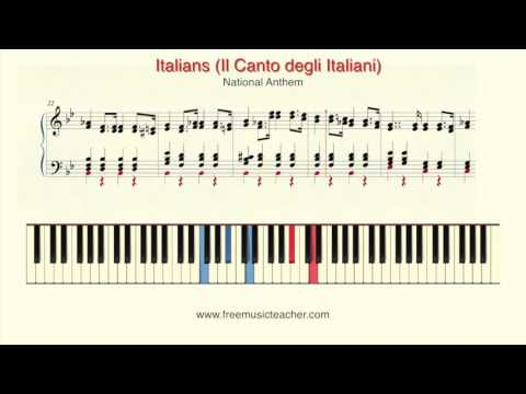 Italians Il Canto degli Italiani National Anthem