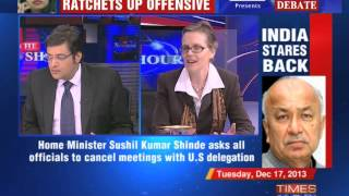 The Newshour Debate: India hits back  - Part 1 (17th Dec 2013)