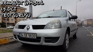Renault Symbol 1.5 dci 2008 Test Sürüşü (Sohbet Tadında)