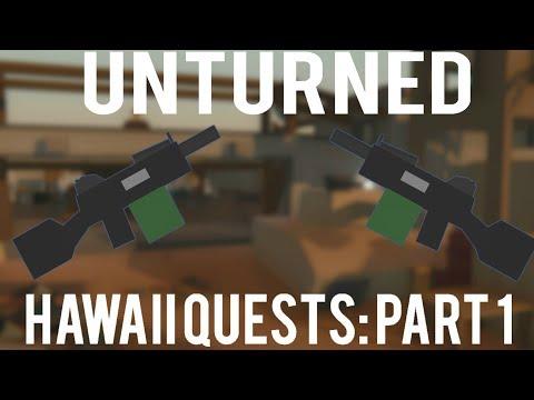 Unturned: All Hawaii quests part 1
