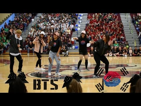 BTS 21st Century Girls Dance Cover - DOHS K Pop Club Spring Assembly 2017
