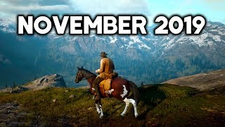 Top 10 NEW Upcoming Games of November 2019 | PC,PS4,XBOX ONE,SWITCH (4K 60FPS)