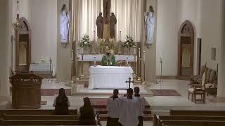 Twentieth Sunday in Ordinary Time - 10:30 AM Sunday Mass at St. Joseph's (8.16.20)