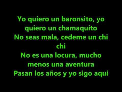Aventura - Un Chi Chi Lyrics