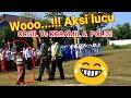 Aksi LUCU.!!!Orang Gila vs Koramil &  Polisi# dalam acara upacara Hardiknas 2017