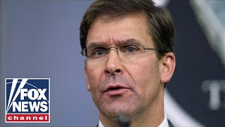 Esper: US not seeking war with Iran, but we are looking to finish one