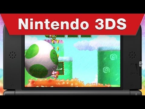 Yoshi's New Island trailer shows off vehicles and egg attacks