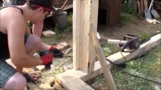 видео Как построить гараж своими руками без проблем
