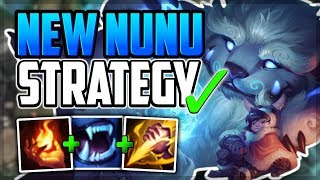 *NEW STRATEGY* IGNITE NUNU TURBO CARRY✅ UNRANKED TO CHALLENGER | Episode 9 - League of Legends