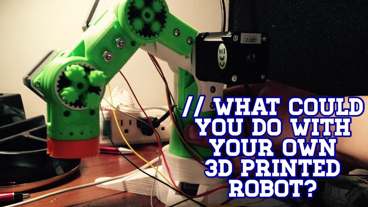 Robotics in Plastic, They're Fantastic! (Open Source Robot)
