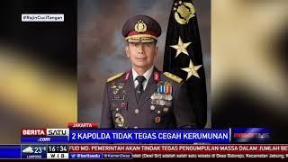 Kapolri Mendadak Copot Kapolda Metro Jaya dan Kapolda Jabar
