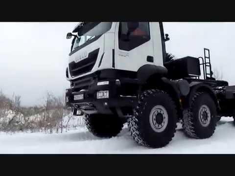 """Русский Trakker: """"паровоз"""" на бездорожье"""