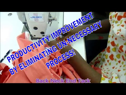 Process Improvement at Garment Factory
