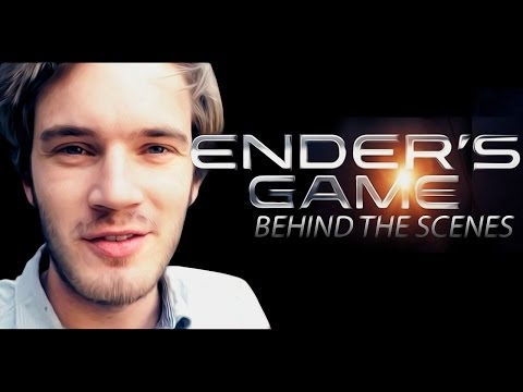 I'm in Ender's Game behind the scenes!