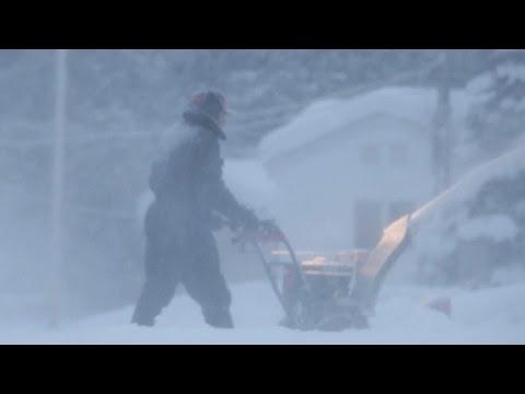 Arctic air sends temperatures plunging nationwide
