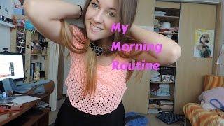 my morning routine la mia routine mattutina