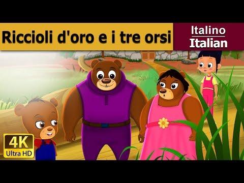 Riccioli d'oro e i tre orsi | Storie Per Bambini | Favole Per Bambini | Fiabe Italiane
