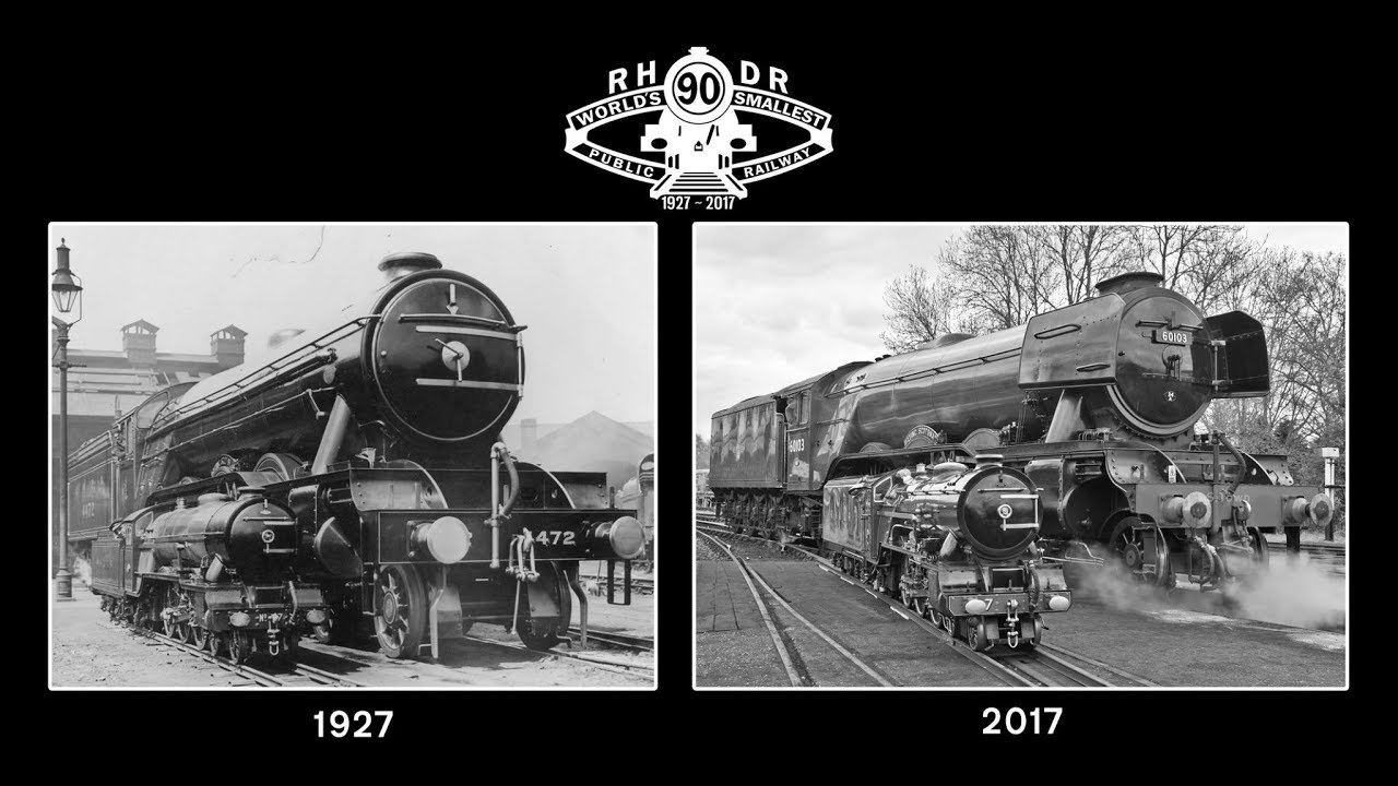 Image result for RHDR Typhoon & Flying Scotsman