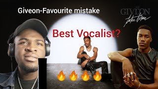 Giveon - FAVORITE MISTAKE (REACTION VIDEO)