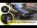 BMW 1997 digital convenience engine start (NO KEY)