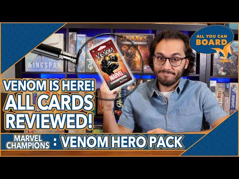 Venom Hero Pack | Marvel Champions | All NEW Cards REVIEWED & ANALYZED