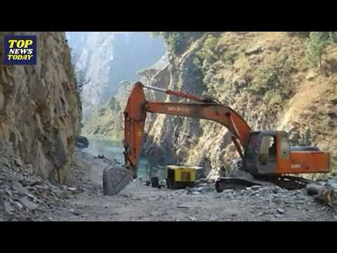 Road from China(Tibet) to Nepal || China Nepal highway || Distance from Nepal to China