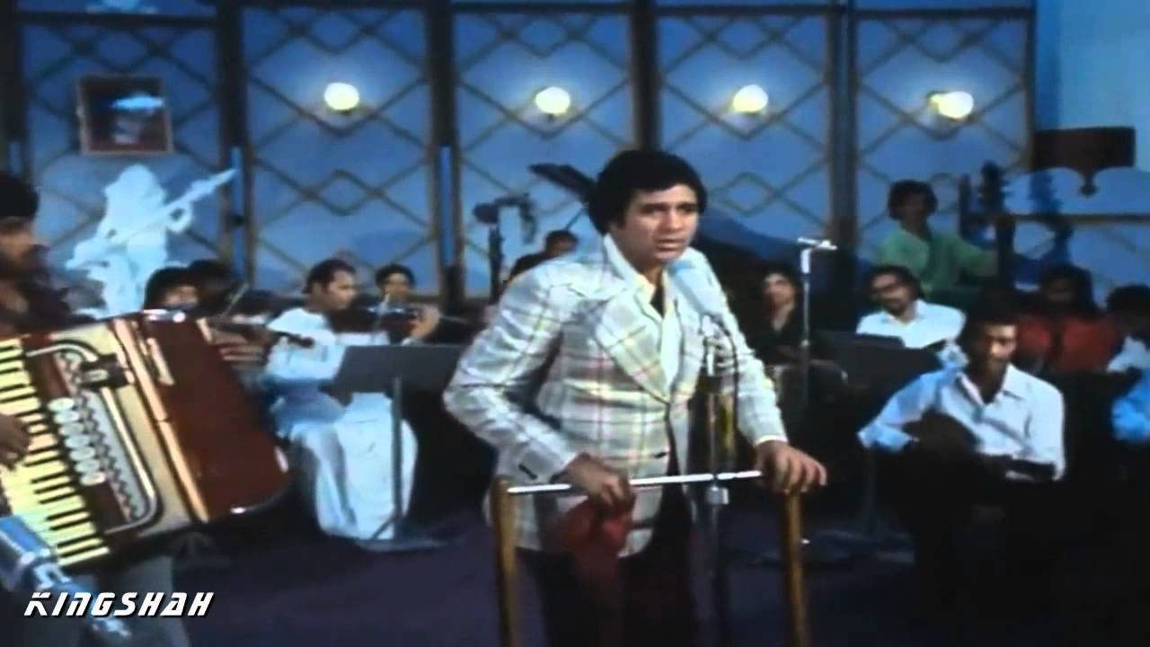 Aate jaate khoobsurat aawara karaoke (kishore kumar) youtube.