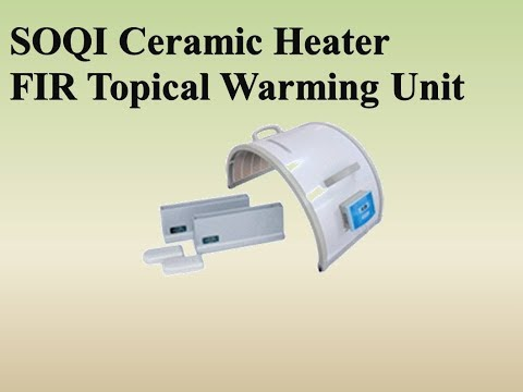 SOQI Ceramic Heater FIR Topical Warming Unit | SOQI Energy Therapy