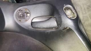 Ремонт внутренней ручки двери Opel Vectra B
