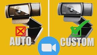 How to Look Your Best On Zoom   Best WebCam Custom Settings   White Balance Exposure Tutorial
