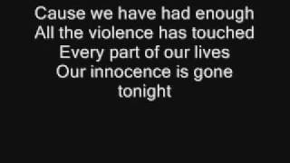 Papa Roach-Had enough(lyrics)
