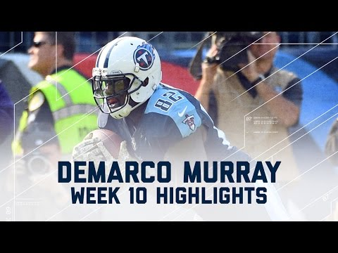 DeMarco Murray Totals 123 Yards & Throws a TD! | Packers vs. Titans | NFL Wk 10 Player Highlights