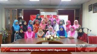 Ucapan Aidilfitri Pergerakan Puteri UMNO Bagan Datoh 1435H