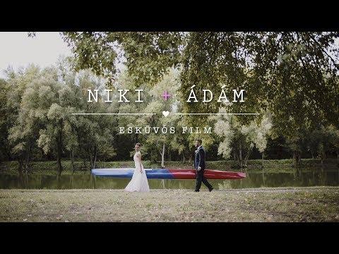 Niki & Ádám Esküvős Film - 2017. Győr / Győrújbarát