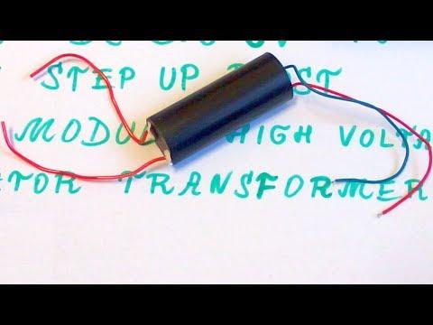 400kV High Voltage Generator (Stun Gun Module?) - with schematic thumbnail