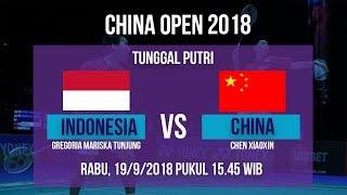 Jadwal Live Tunggal Putri, Gregoria Mariska Tunjung Vs Xiaoxin, di China Open 2018 Pukul 15.40 WIB